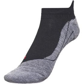 Falke TK5 Invisible - Chaussettes Homme - gris/noir